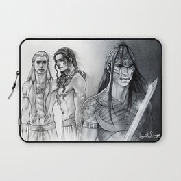 The Wrath of a Brother Laptop Sleeve