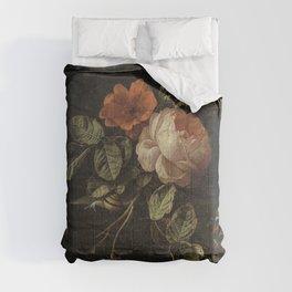Elias van den Broeck - Still life with roses - 1670-1708 Comforters