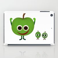 fruits iPad Cases featuring Fruits by ibbyk