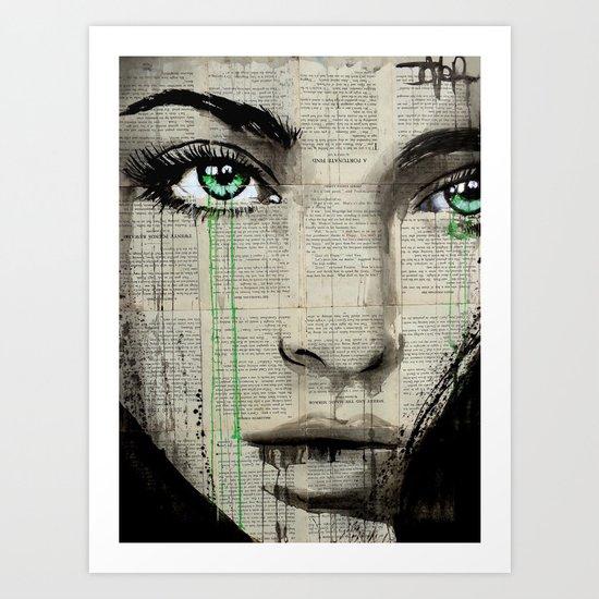 TURN GREEN Art Print