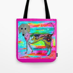 CHIWEENIE QUEEN Tote Bag