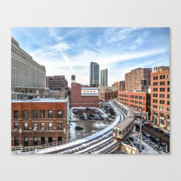 Chicago Curves  Canvas Print