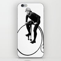 pushing daisies iPhone & iPod Skins featuring Keep Pushing by William Michael