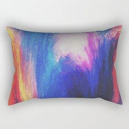 Melted galaxia Rectangular Pillow