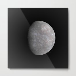 Nasa Picture 6: mercury Metal Print