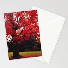 Scarlet Stationery Cards