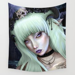 Gothic Succubus Wall Tapestry