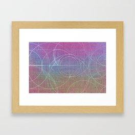 Aurea (Magenta Version) Framed Art Print