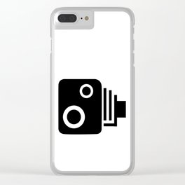 Isolated Speed Camera Clear iPhone Case