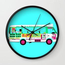 BUS (Colorway B) Wall Clock
