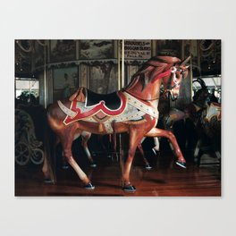 Outside Row Stander Canvas Print