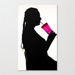 My Sip Cup Canvas Print