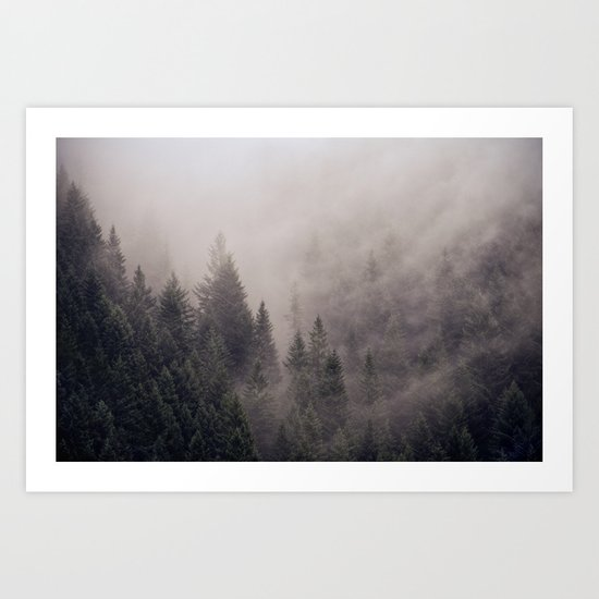 Mount Si, Washington Art Print