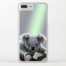 Koala Bear Clear iPhone Case
