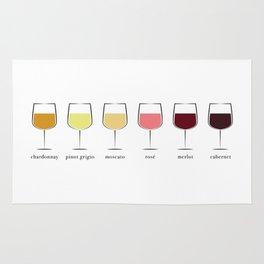 Wine Spectrum Rug