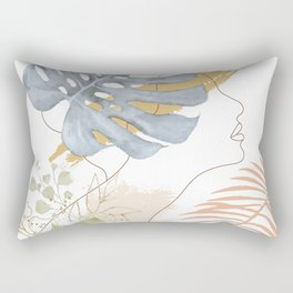 Line in Nature III Rectangular Pillow