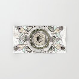 Moon Mandala Hand & Bath Towel