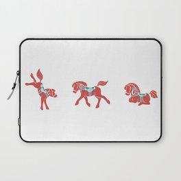 Lovely Little Dala Horses Laptop Sleeve