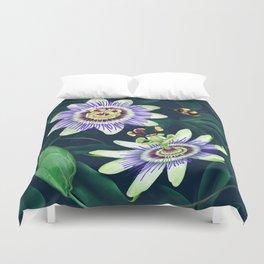 Passion Flower Vine Duvet Cover