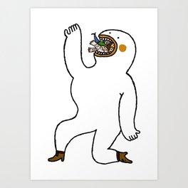 Eat Eat Eat Art Print