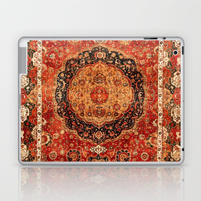 Seley 16th Century Antique Persian Carpet Print Laptop & iPad Skin