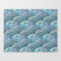 Colorful fish scales pattern by catyarte