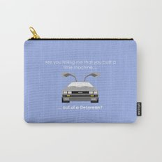 Back to the Future - Delorean Carry-All Pouch