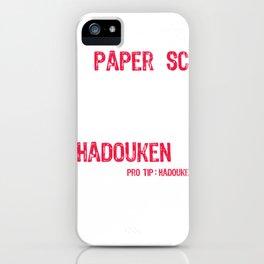 Hadouken Always Win iPhone Case