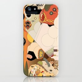 Educating a Poodle iPhone Case