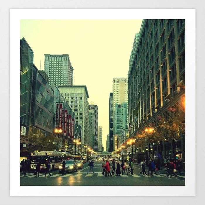 Washington & State Art Print