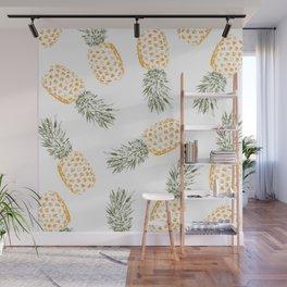 Pineapple Wall Mural