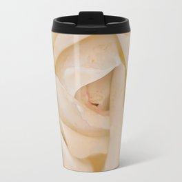 IVORY ROSE Travel Mug