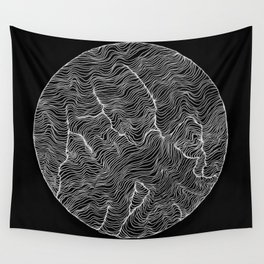 Inverted Viscosity Wall Tapestry