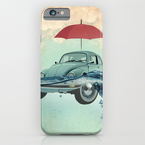 Chance of rain in deep water iPhone & iPod Case