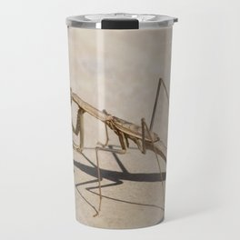Praying Mantis and Shadow Travel Mug