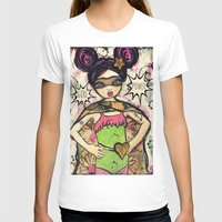 girl power T-shirts featuring Girl Power by Lisa Ferrante
