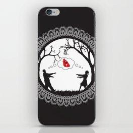 Love Undead Black iPhone Skin