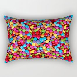 A Handful of Candy Rectangular Pillow