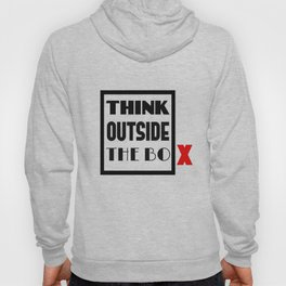 Think Outside The Box 1 Hoody