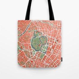 Tokyo city map classic Tote Bag