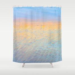 Glistening Carmel Beach, Carmel-By-The-Sea Shower Curtain