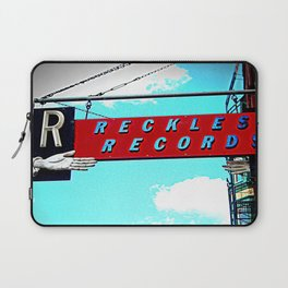 Reckless Records ~ chicago sign Laptop Sleeve