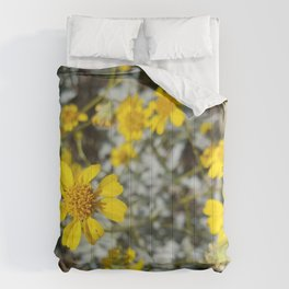 Yellow Blossoms Comforters