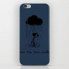 Turn that cloud, upside down! iPhone & iPod Skin