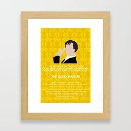 The Blind Banker - Sherlock Holmes Framed Art Print