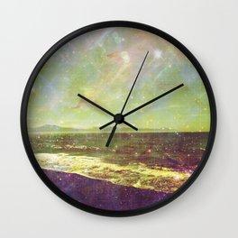 Diamond Creek Beach Wall Clock