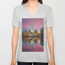 Dallas - USA Unisex V-Neck