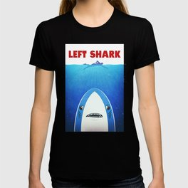 Left Shark Parody - Jaws - Funny Movie / Meme Humor T-shirt
