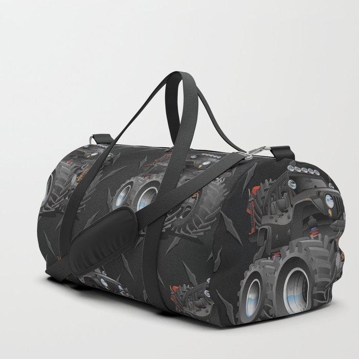 Off Road 4x4 Cartoon Duffle Bag