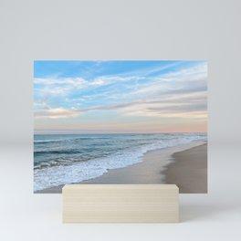 december waves Mini Art Print